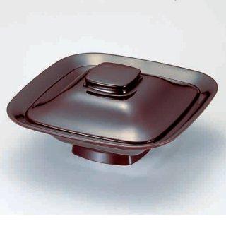 7寸角煮物椀 溜 漆器 煮物椀・雑煮椀 業務用
