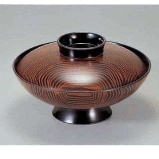 5.5寸小槌煮物椀 木目 漆器 煮物椀・雑煮椀 業務用