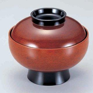 6寸高砂椀 後藤塗つば黒 漆器 煮物椀・雑煮椀 業務用