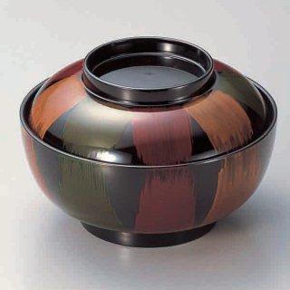 5.5寸深型椀 新歌舞伎 漆器 煮物椀・雑煮椀 業務用