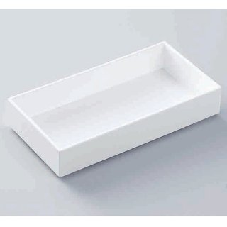 8寸遊菜箱 白ヘギ目 漆器 松花堂・幕ノ内弁当 8寸 業務用