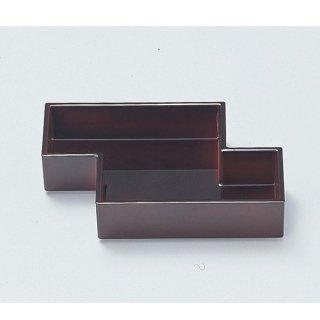 5.5寸筏珍味箱 溜底黒塗 漆器 楕円・変型盛器 業務用