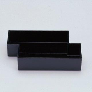 筏盛箱 黒 漆器 楕円・変型盛器 業務用