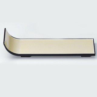 短冊盛器 銀渕黒 大 漆器 楕円・変型盛器 業務用