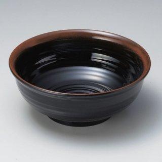 ロクロ大鉢 天目 9寸 漆器 めん鉢・鉄鉢 業務用