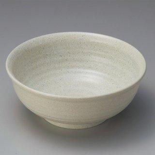 ロクロ大鉢 志野 8寸 漆器 めん鉢・鉄鉢 業務用
