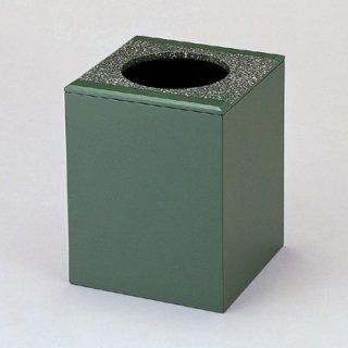 くず入れ グリーン乾漆吹雪 漆器 ティッシュボックス・ダストボックス 業務用