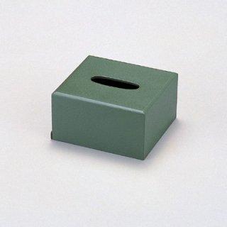 ミニ ティッシュボックス 淡グリーン乾漆 漆器 ティッシュボックス・ダストボックス 業務用