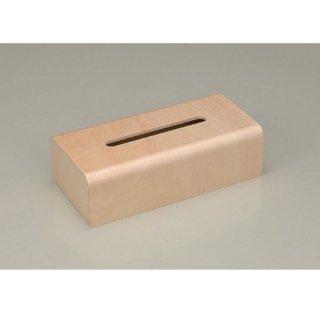 ウッディ ティッシュBOX ナチュラル 漆器 ティッシュボックス・ダストボックス 業務用