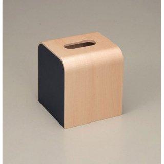 ウッディ ティッシュBOX ブラック 漆器 ティッシュボックス・ダストボックス 業務用