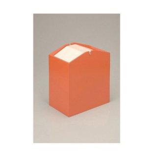 アローズダストBOX/S 容量10L オレンジ 漆器 ティッシュボックス・ダストボックス 業務用