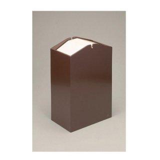 アローズダストBOX/W 容量20L ブラウン 漆器 ティッシュボックス・ダストボックス 業務用