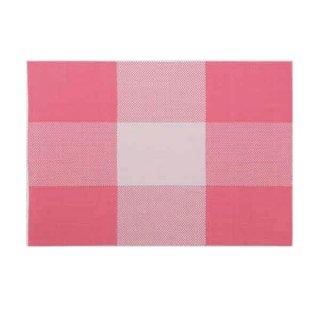 エコマット ピンク格子 漆器 テーブルマット 業務用