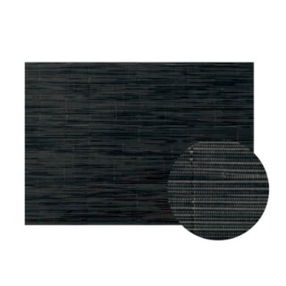 Col.7ブラックストライプAエレガントマット 漆器 テーブルマット 業務用