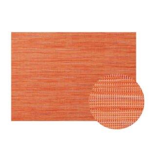 Col.13オレンジストライプエレガントマット 漆器 テーブルマット 業務用