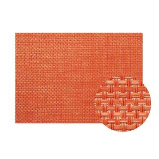 Col.14オレンジチェックエレガントマット 漆器 テーブルマット 業務用