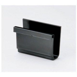 ニュー箸箱用メニュー立て 黒 漆器 箸箱・箸立・サーバーレスト 業務用