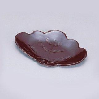 松葉皿 溜 漆器 銘々皿業務用