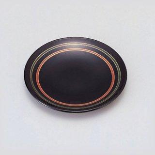 4.5寸菓子皿 ライン 漆器 銘々皿業務用