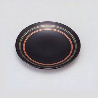 5寸菓子皿 ライン 漆器 銘々皿業務用