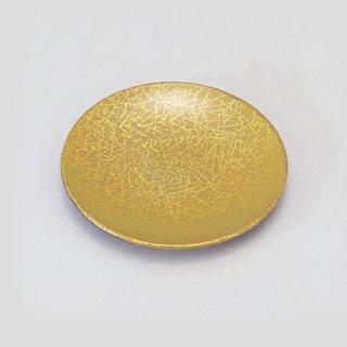 4.5寸菓子皿 綿糸ベージュ 漆器 銘々皿業務用