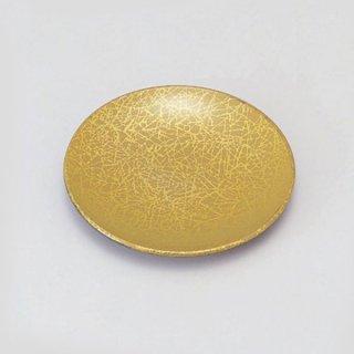 5寸菓子皿 綿糸ベージュ 漆器 銘々皿業務用