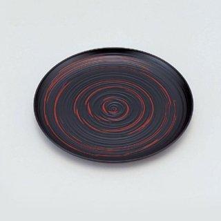 5.5寸木彫り丸皿 古代曙 漆器 銘々皿業務用