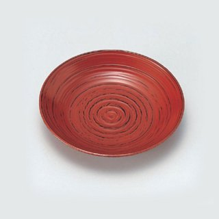 4.8寸象こく菓子皿 根来 漆器 銘々皿業務用