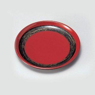 お好み銘々皿 赤に金かすり 漆器 銘々皿業務用