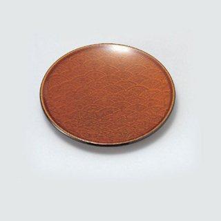 4.5寸青海銘々皿 漆調春慶塗 漆器 銘々皿業務用