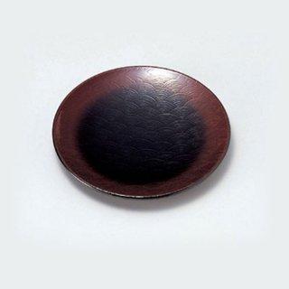 4.5寸青海銘々皿 溜春慶 漆器 銘々皿業務用