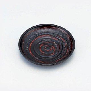 4寸木彫り茶托 古代曙 漆器 茶托・コースター業務用