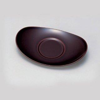 小判茶托 大 漆調溜塗 漆器 茶托・コースター業務用