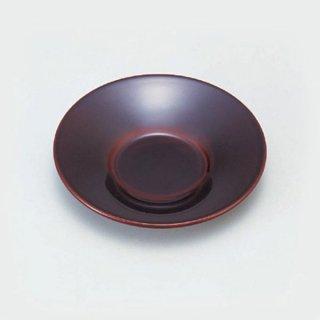 4寸朝顔茶托 総溜 漆器 茶托・コースター業務用