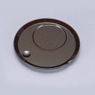 丸茶碗蒸し台 梨地 漆器 茶碗むし用受台 業務用