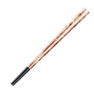五角先太塗箸銅八雲21cm・22.7cm 漆器 塗箸(樹脂)(22cm未満) 業務用