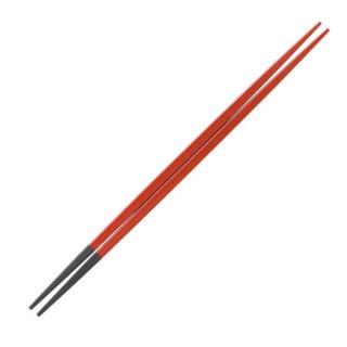 利久塗箸朱塗23cm・24cm 漆器 塗箸(樹脂)(22cm以上) 業務用