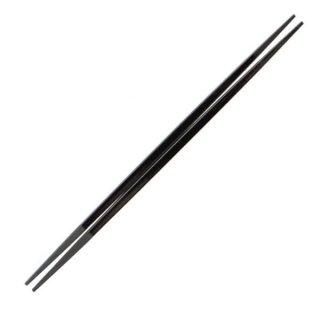 利久塗箸黒塗23cm・24cm 漆器 塗箸(樹脂)(22cm以上) 業務用