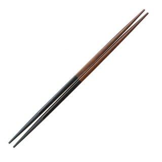 利久塗箸栃/黒乾漆23cm・24cm 漆器 塗箸(樹脂)(22cm以上) 業務用