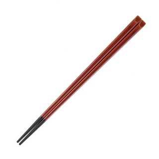 21cm天削塗箸 春慶 ブラック 漆器 塗箸(樹脂)(22cm未満) 業務用