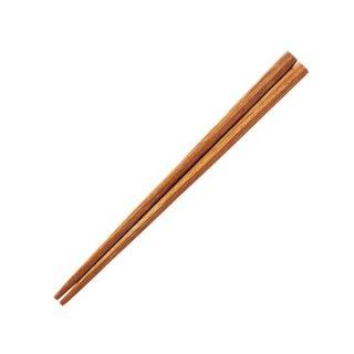18cmチャンプ箸 漆器 木製積層箸 業務用