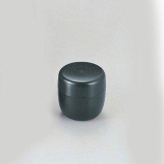 茶筒 中ブタ付 グリーン乾漆 漆器 茶びつ・茶筒・茶こぼし 業務用