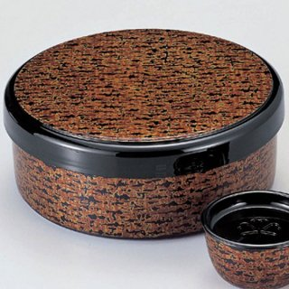 茶びつ 銀格子 漆器 茶びつ・茶筒・茶こぼし 業務用