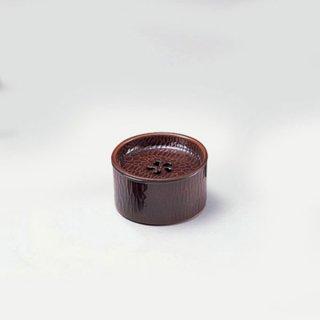 のみ彫茶筒 トチ 漆器 茶びつ・茶筒・茶こぼし 業務用