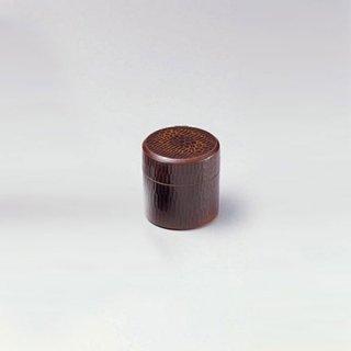 のみ彫茶こぼし トチ 漆器 茶びつ・茶筒・茶こぼし 業務用