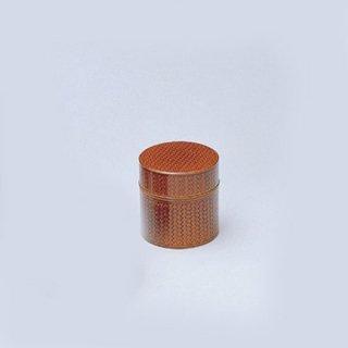 かご目茶こぼし 春慶 漆器 茶びつ・茶筒・茶こぼし 業務用