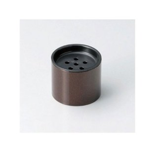 雅茶こぼし 梨地 漆器 茶びつ・茶筒・茶こぼし 業務用
