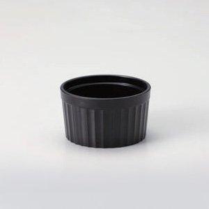 超耐熱スフレ ブラック 漆器 ビュッフェ アミューズ 業務用