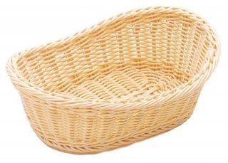 樹脂バスケット 舟形 白 大 漆器 舟形バスケット 業務用
