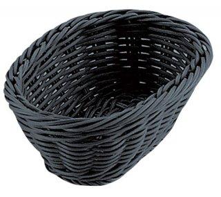 小判型バスケット ブラック 15型 漆器 小判型バスケット 業務用